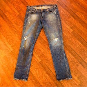 J.Crew Vintage Matchstick Distressed Jeans| sz 31R